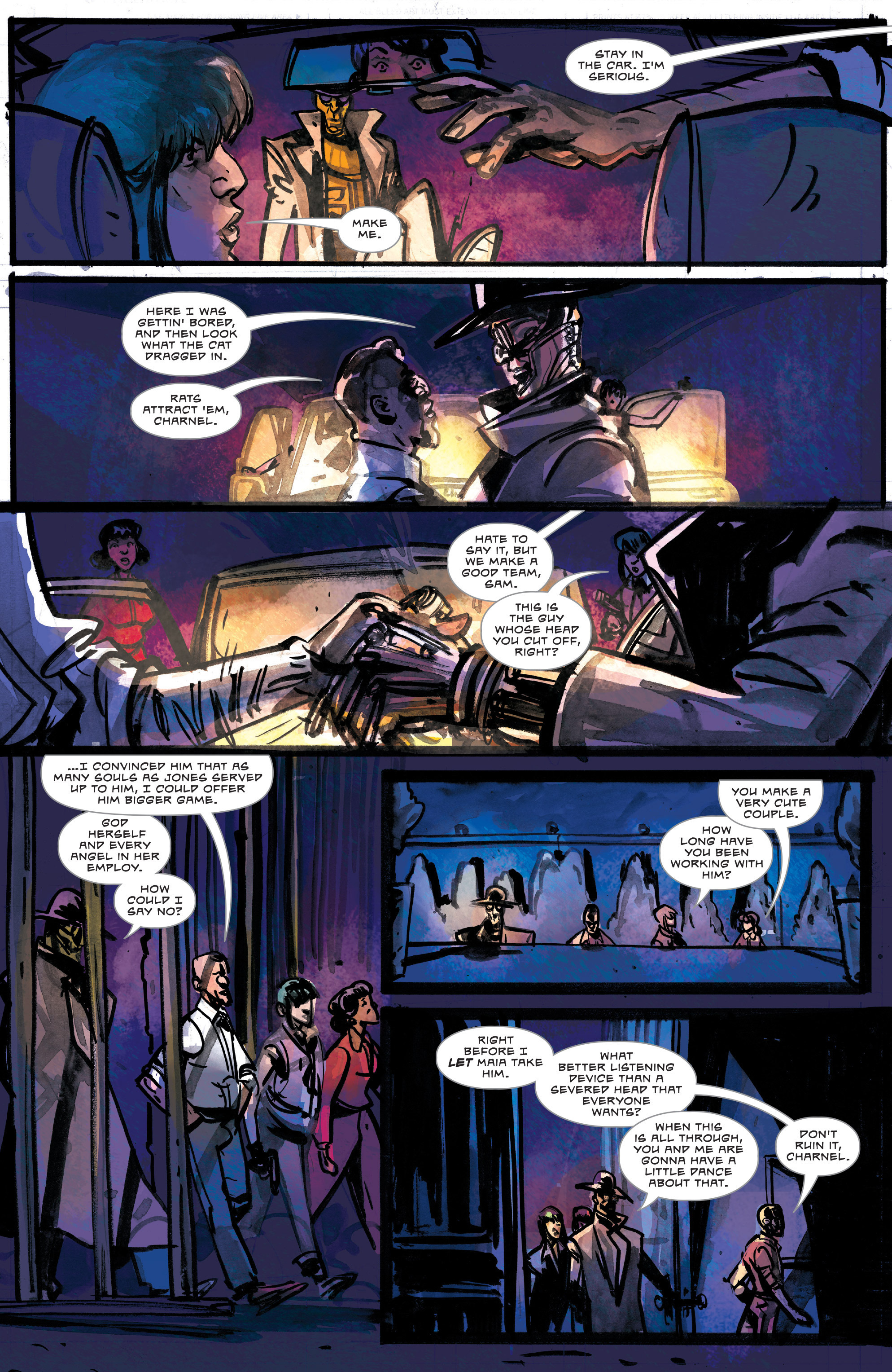 Read online Dead Letters comic -  Issue #11 - 12