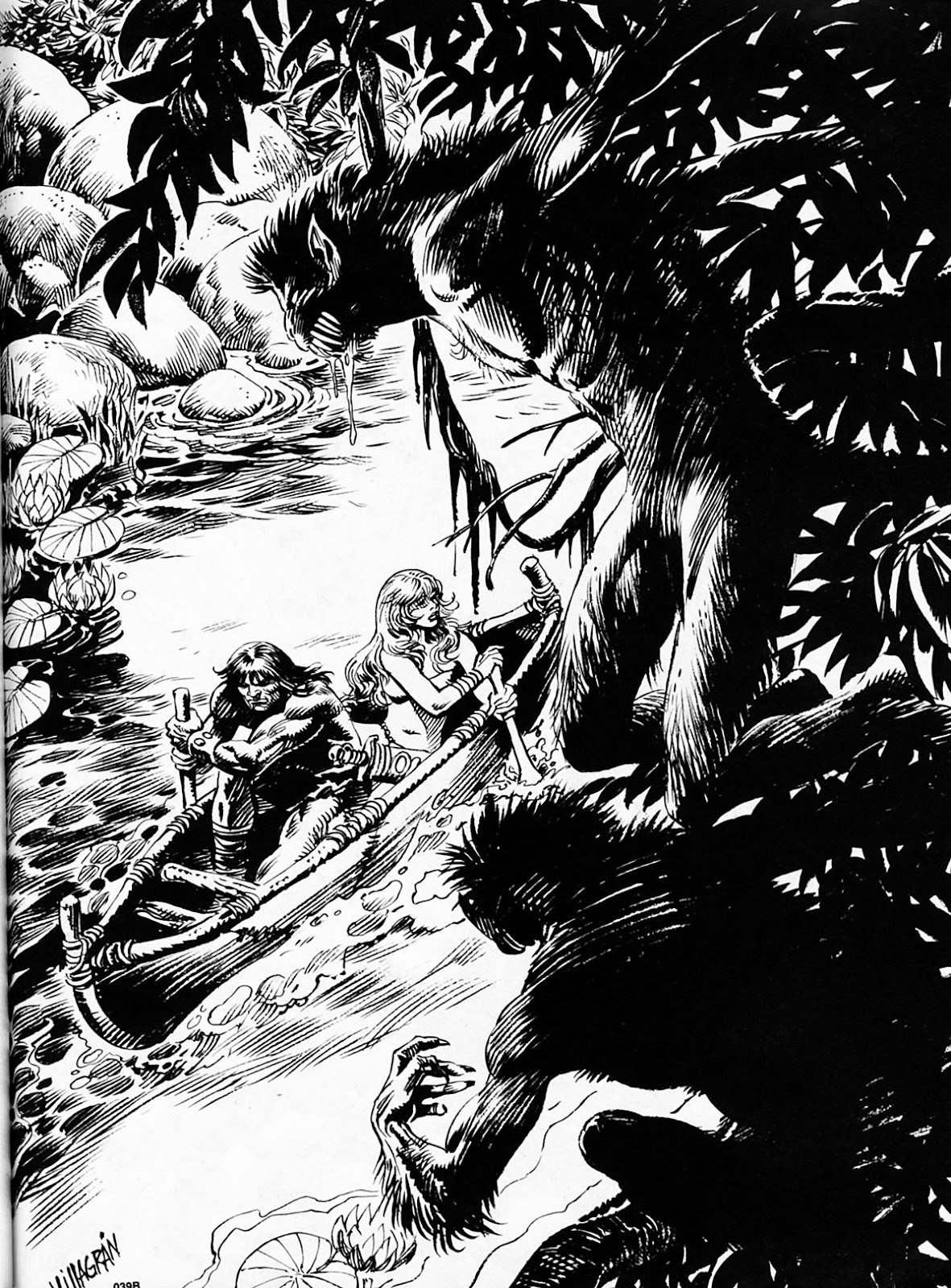 The Savage Sword Of Conan Issue #186 #187 - English 56