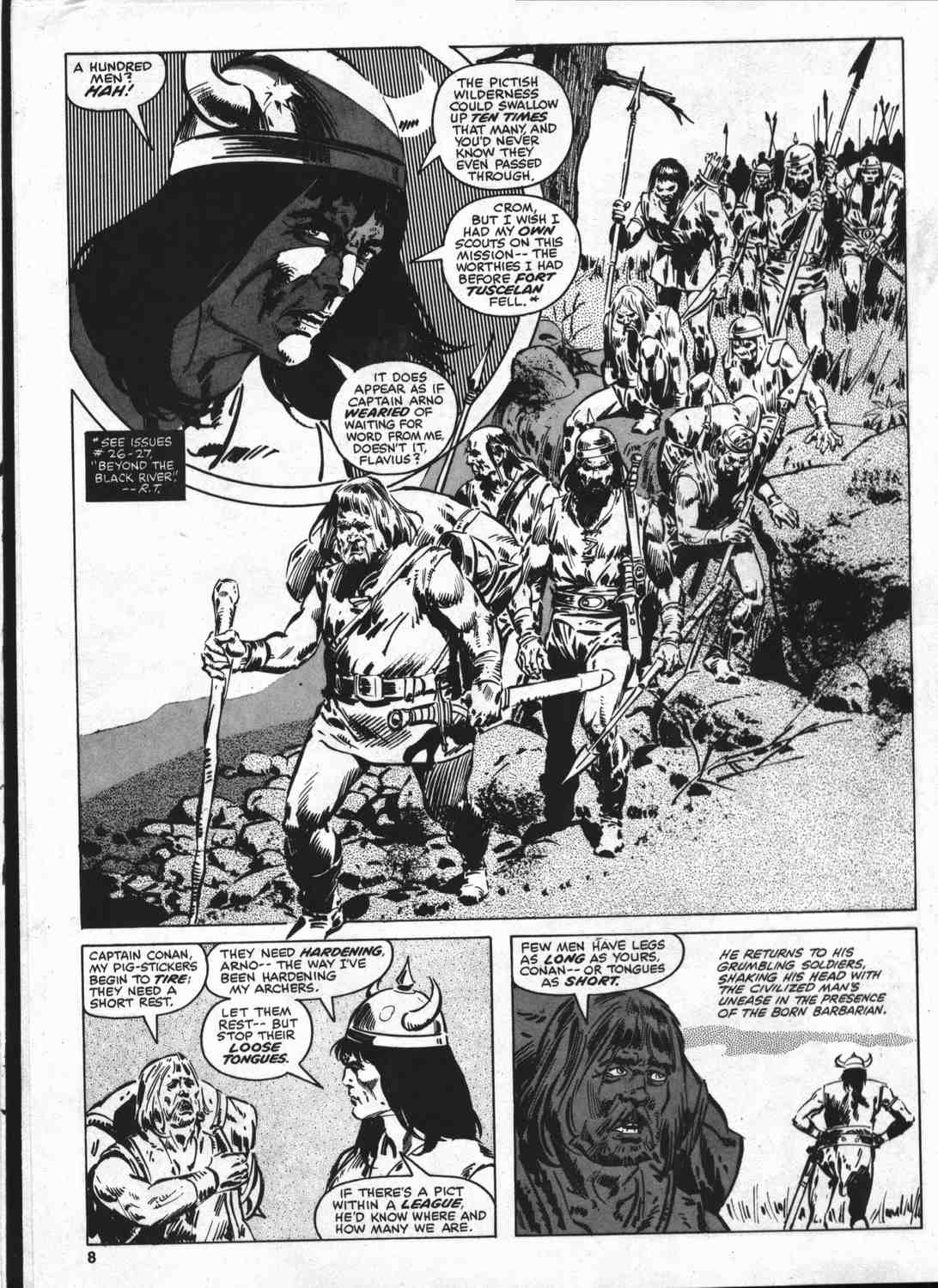 The Savage Sword Of Conan Issue #46 #47 - English 7