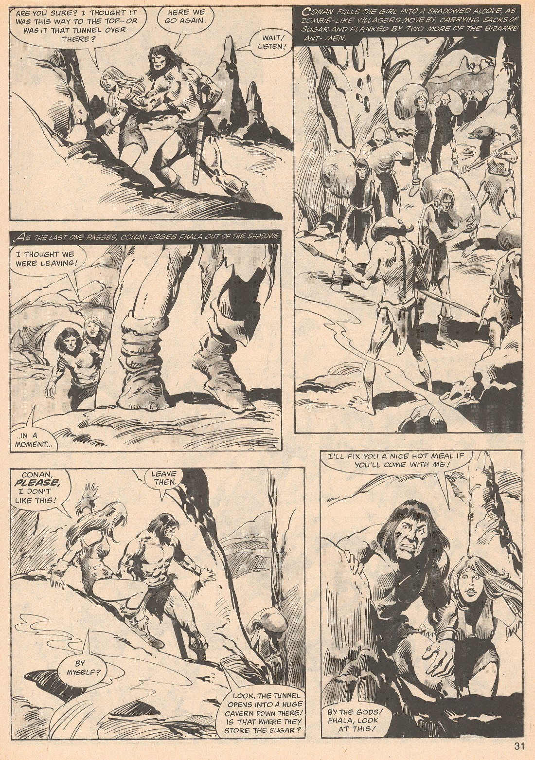 The Savage Sword Of Conan Issue #70 #71 - English 31