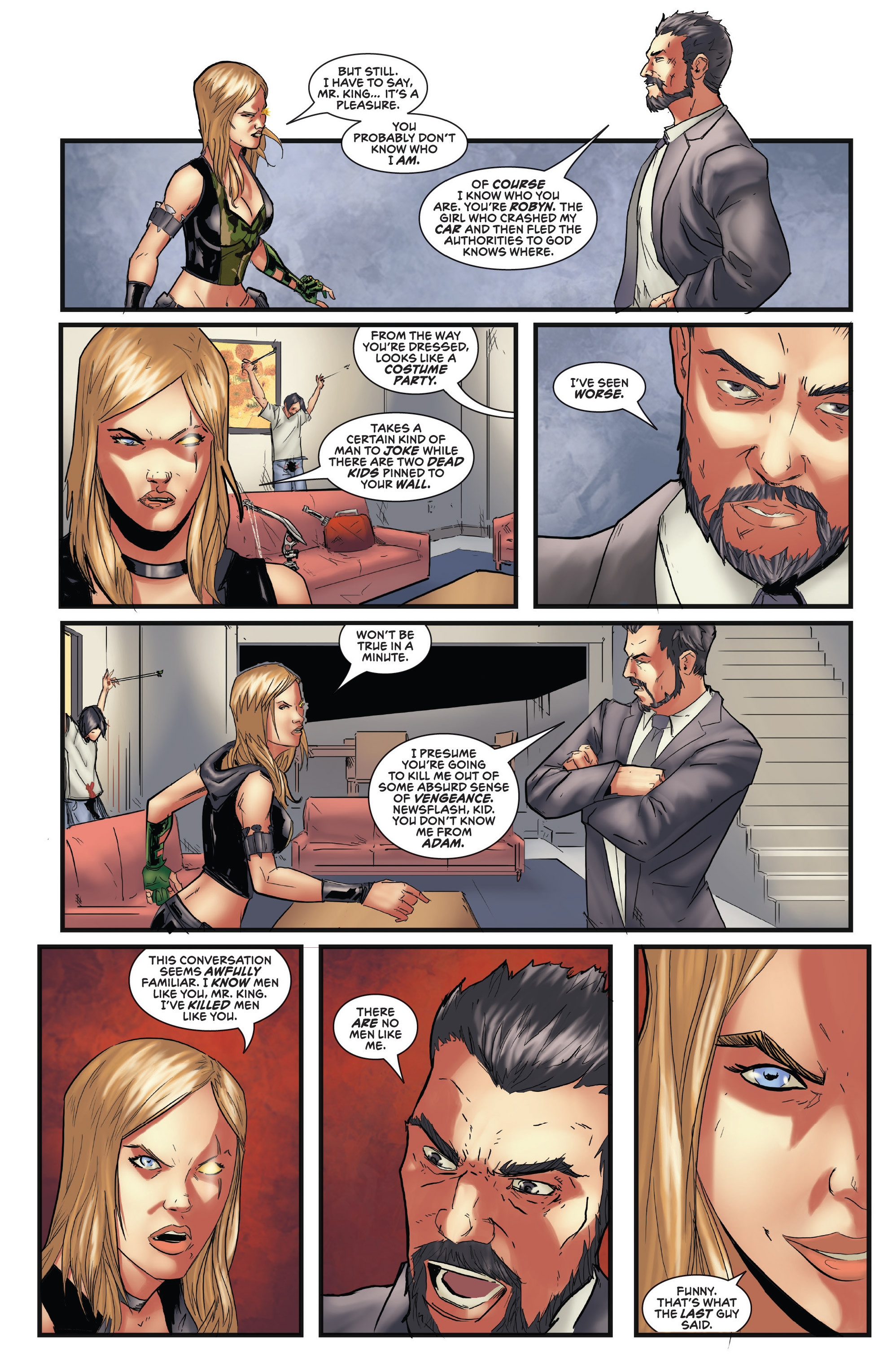 Read online Grimm Fairy Tales presents Robyn Hood (2012) comic -  Issue #5 - 22