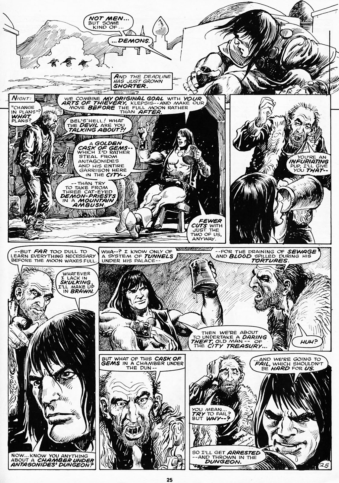 The Savage Sword Of Conan Issue #180 #181 - English 27