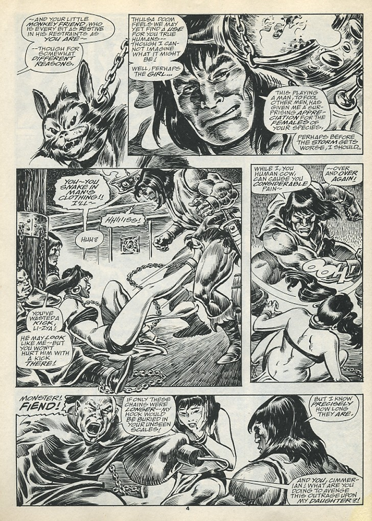 The Savage Sword Of Conan Issue #193 #194 - English 6
