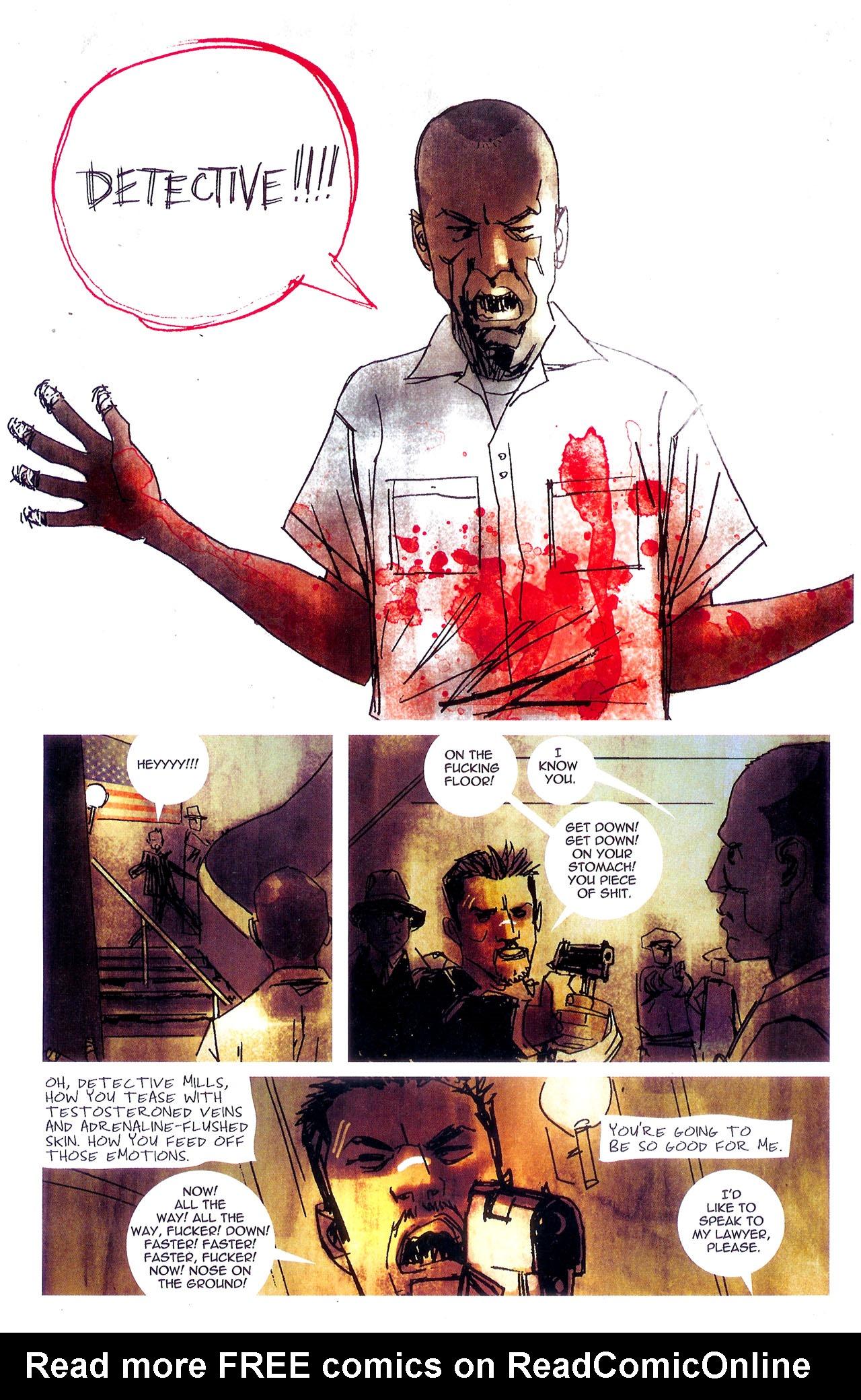 Read online Se7en comic -  Issue #7 - 10