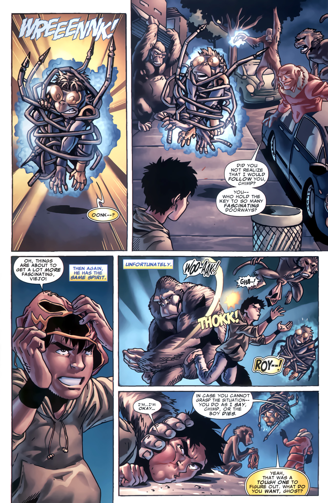 Read online Marvel Apes: Speedball Special comic -  Issue # Full - 29