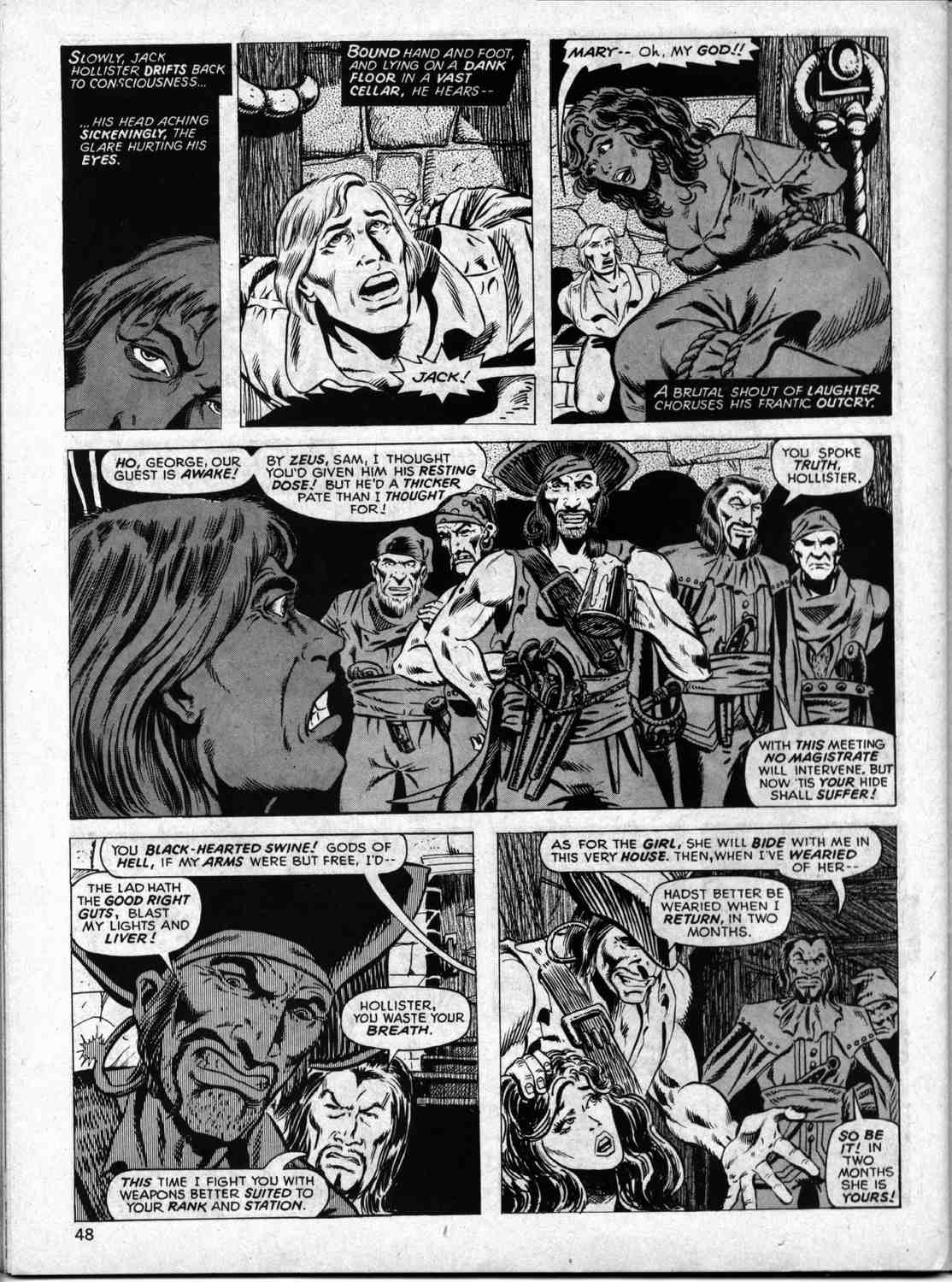The Savage Sword Of Conan Issue #33 #34 - English 47
