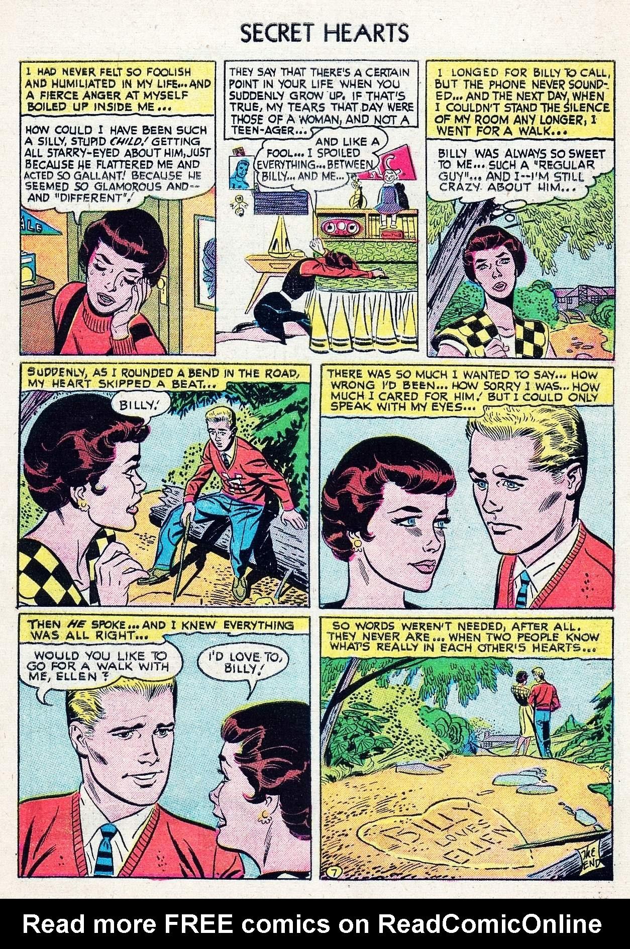Read online Secret Hearts comic -  Issue #29 - 9
