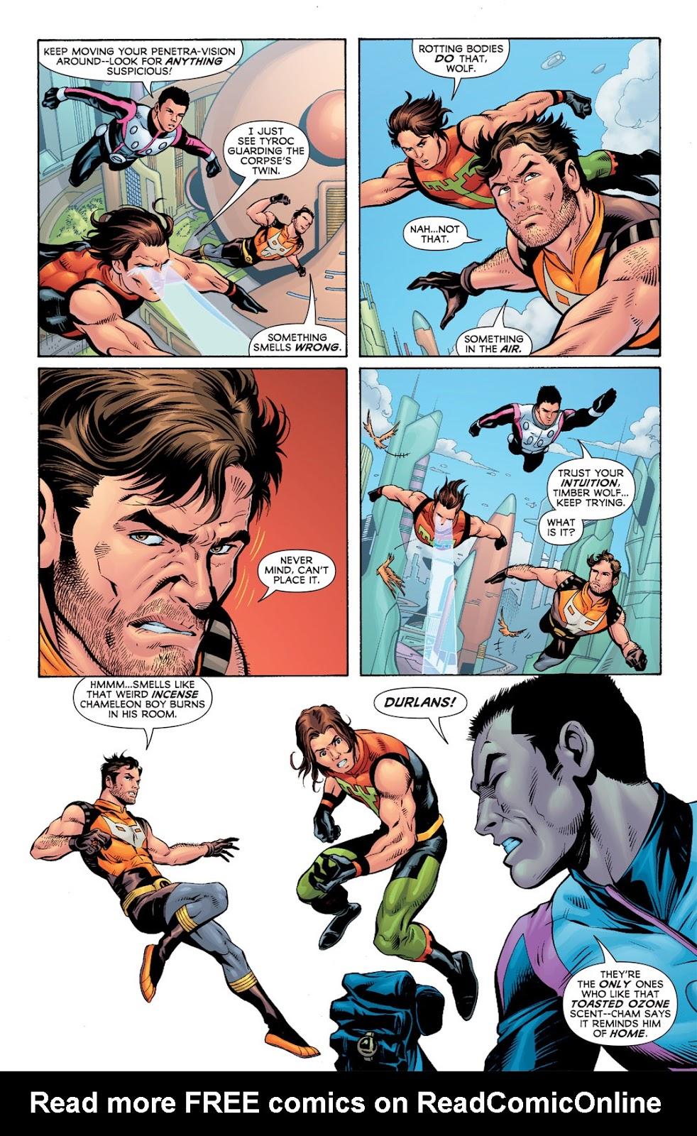 Legion of Super-Heroes (2010) Issue #7 #8 - English 8