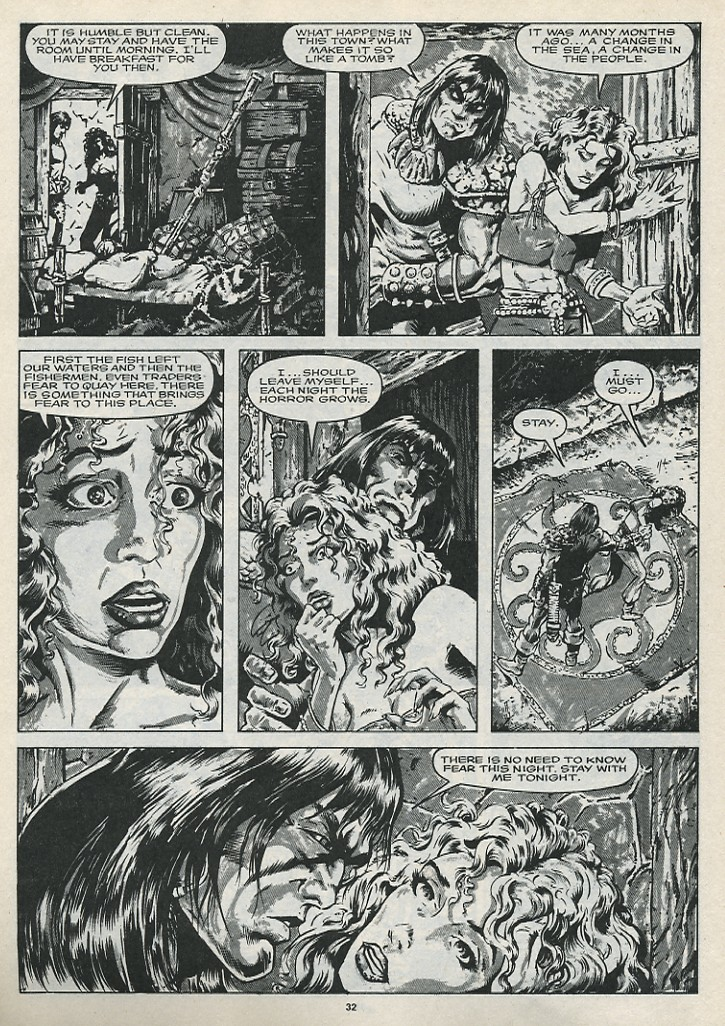 The Savage Sword Of Conan Issue #176 #177 - English 34