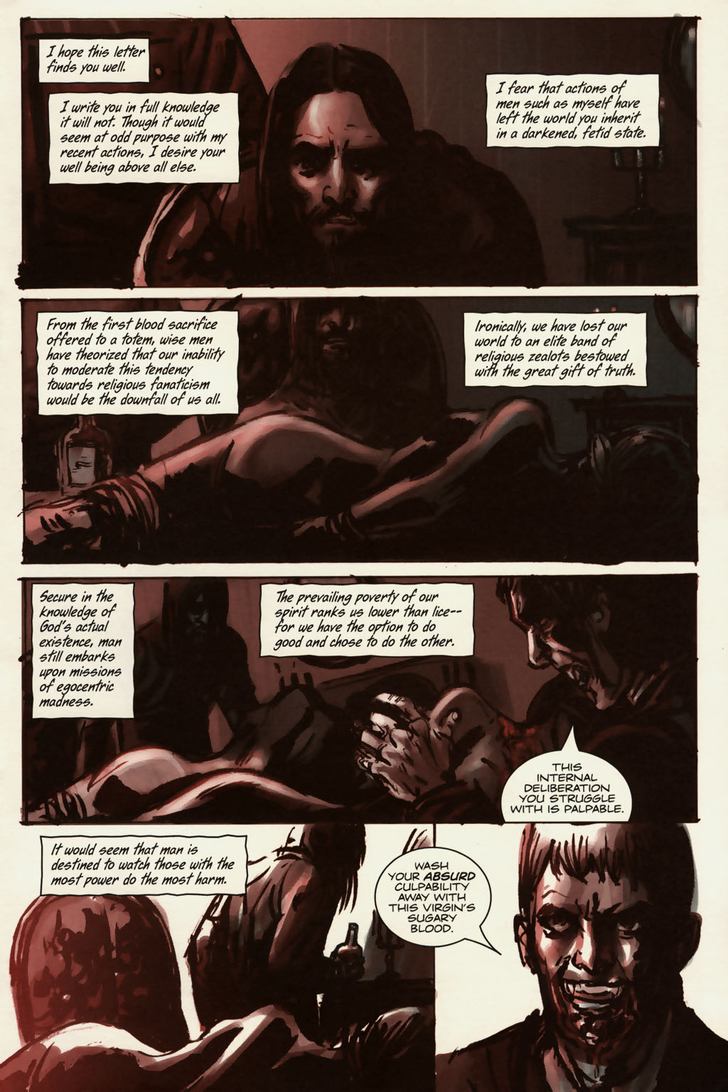 Read online Sea of Red comic -  Issue #13 - 2