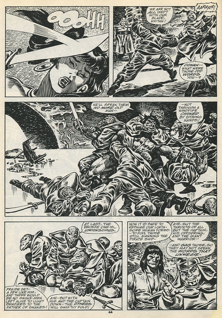 The Savage Sword Of Conan Issue #192 #193 - English 46