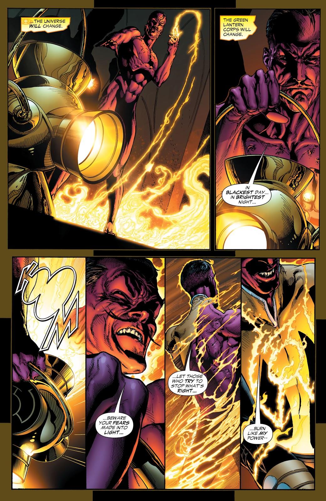 Green Lantern: The Sinestro Corps War Full #1 - English 9