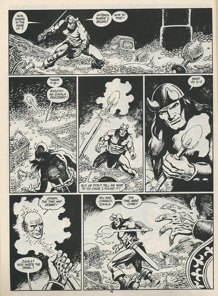 The Savage Sword Of Conan Issue #189 #190 - English 40