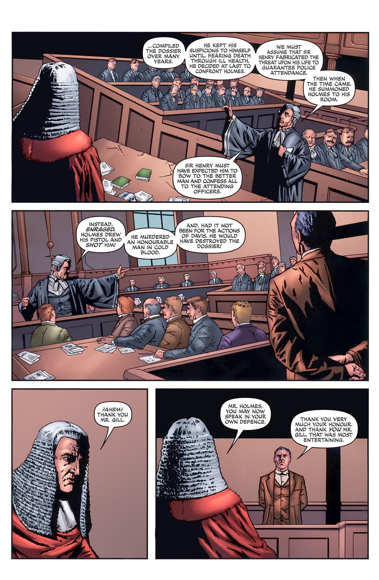 Read online Sherlock Holmes (2009) comic -  Issue #5 - 12