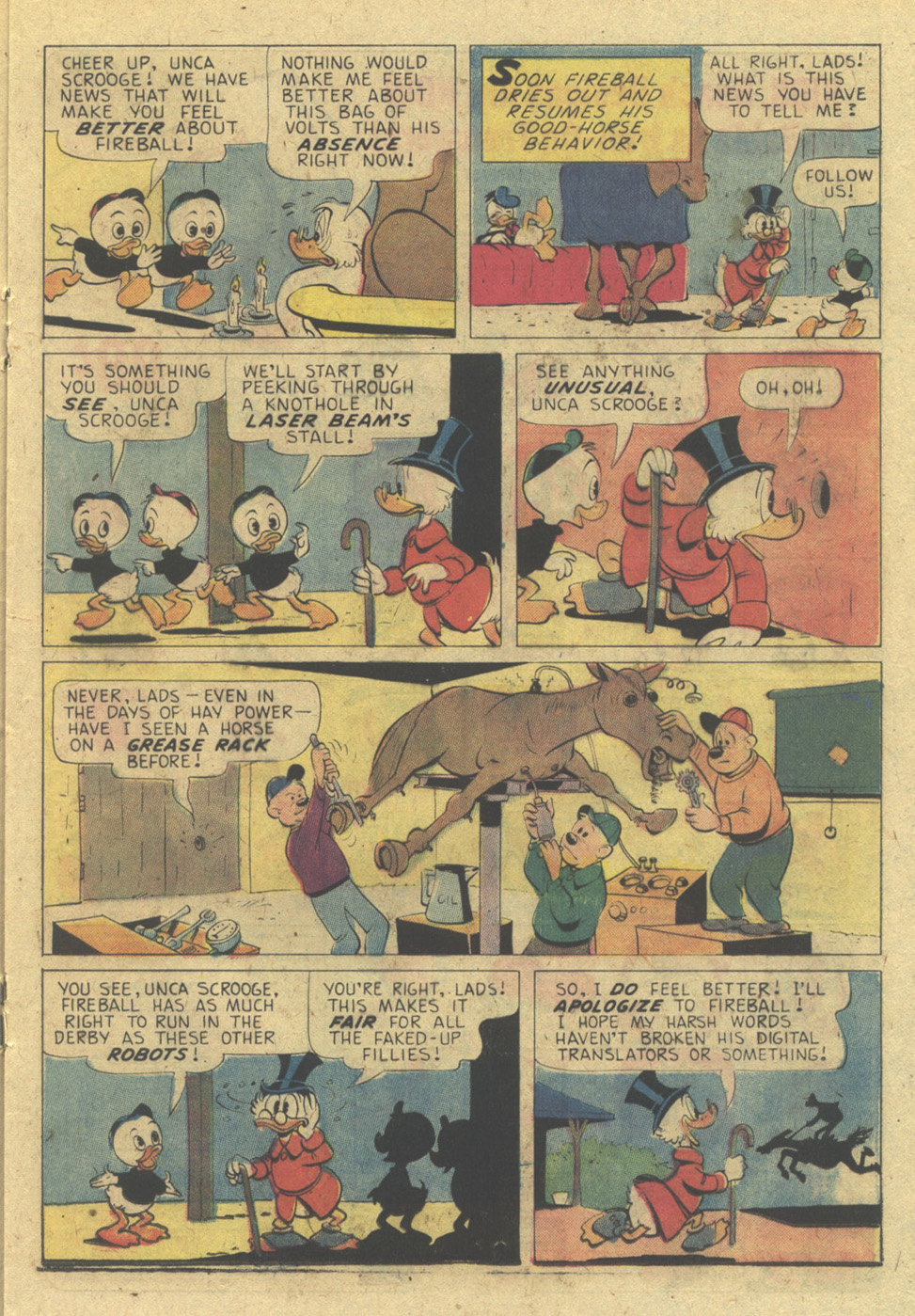 Uncle Scrooge (1953) Issue #131 #131 - English 17