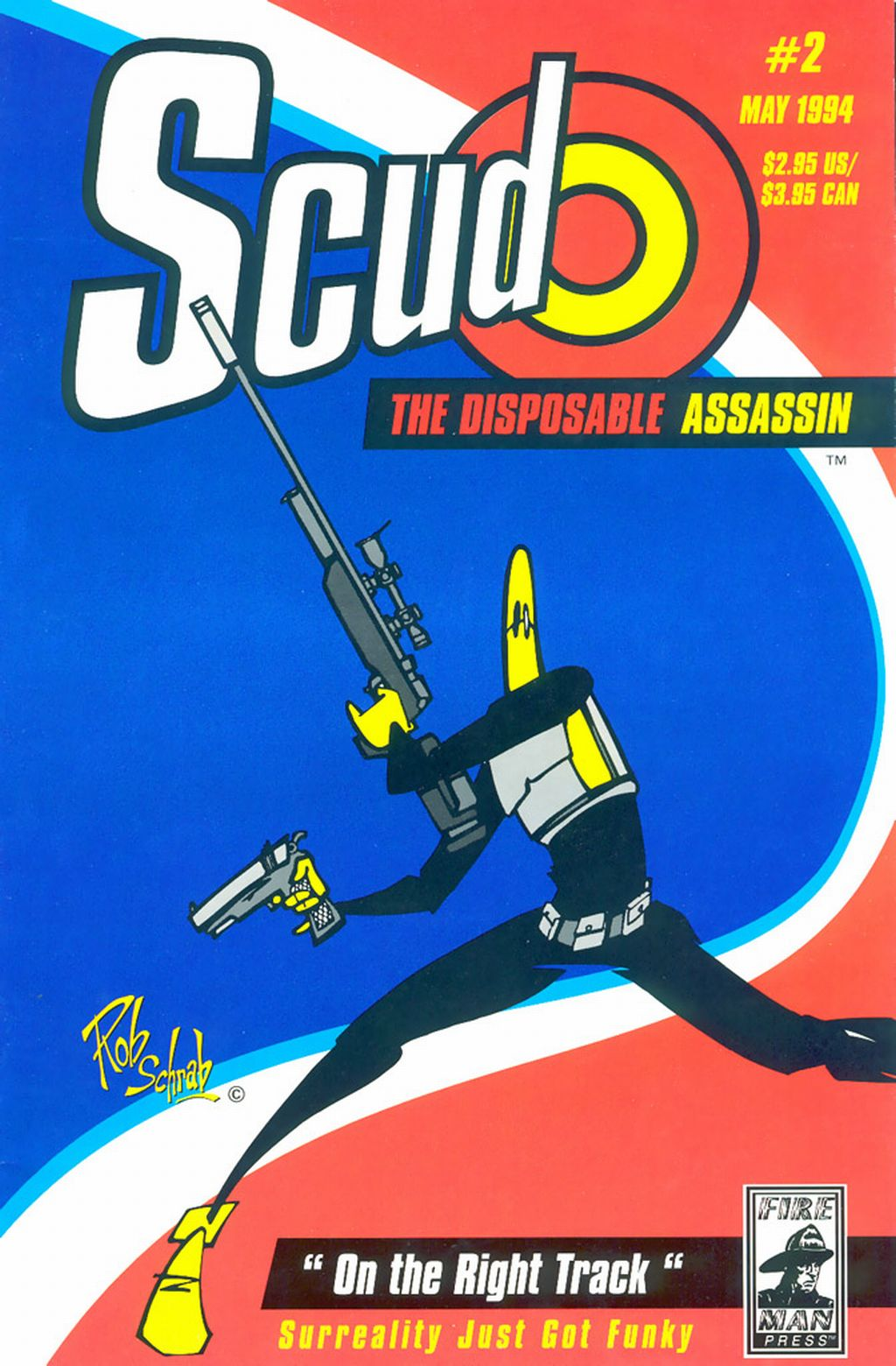 Read online Scud: The Disposable Assassin (1994) comic -  Issue #2 - 1