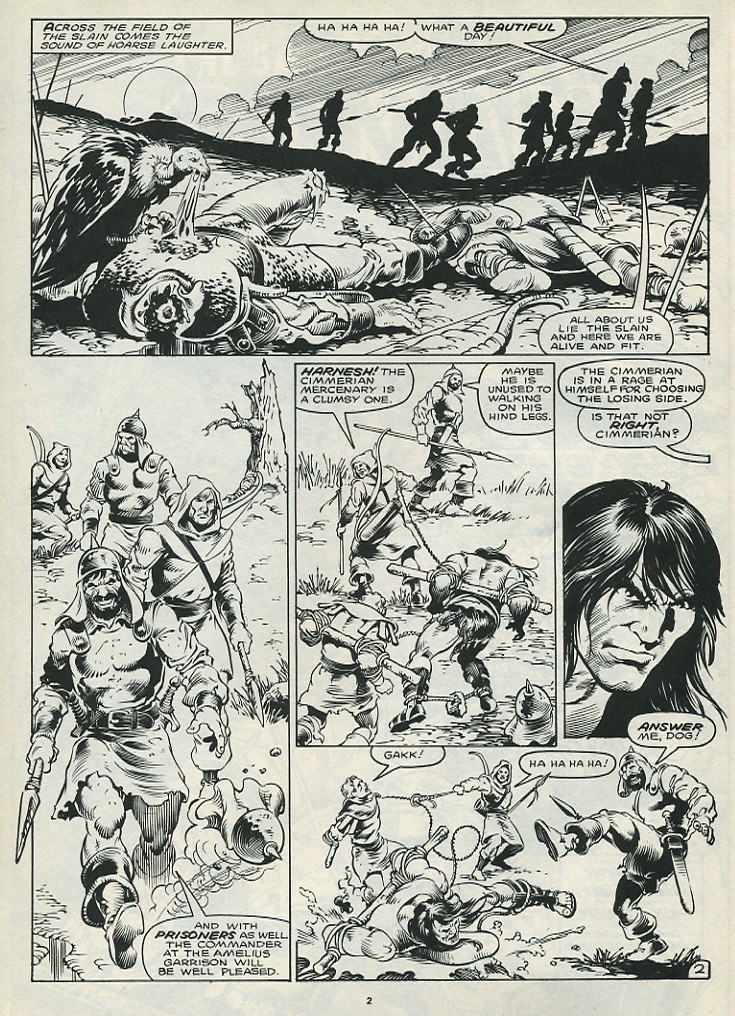 The Savage Sword Of Conan Issue #172 #173 - English 4