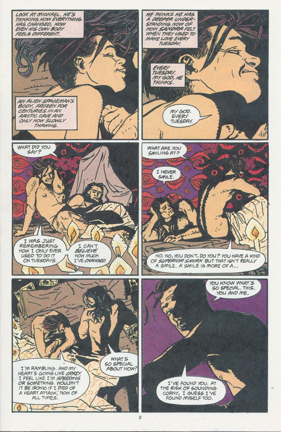 Read online Enigma comic -  Issue #7 - 4