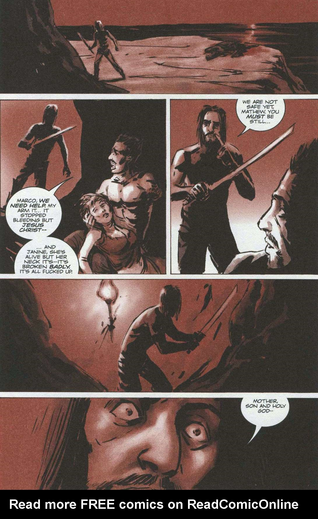 Read online Sea of Red comic -  Issue #6 - 3