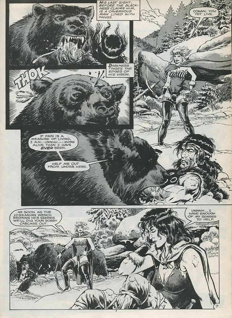The Savage Sword Of Conan Issue #179 #180 - English 9