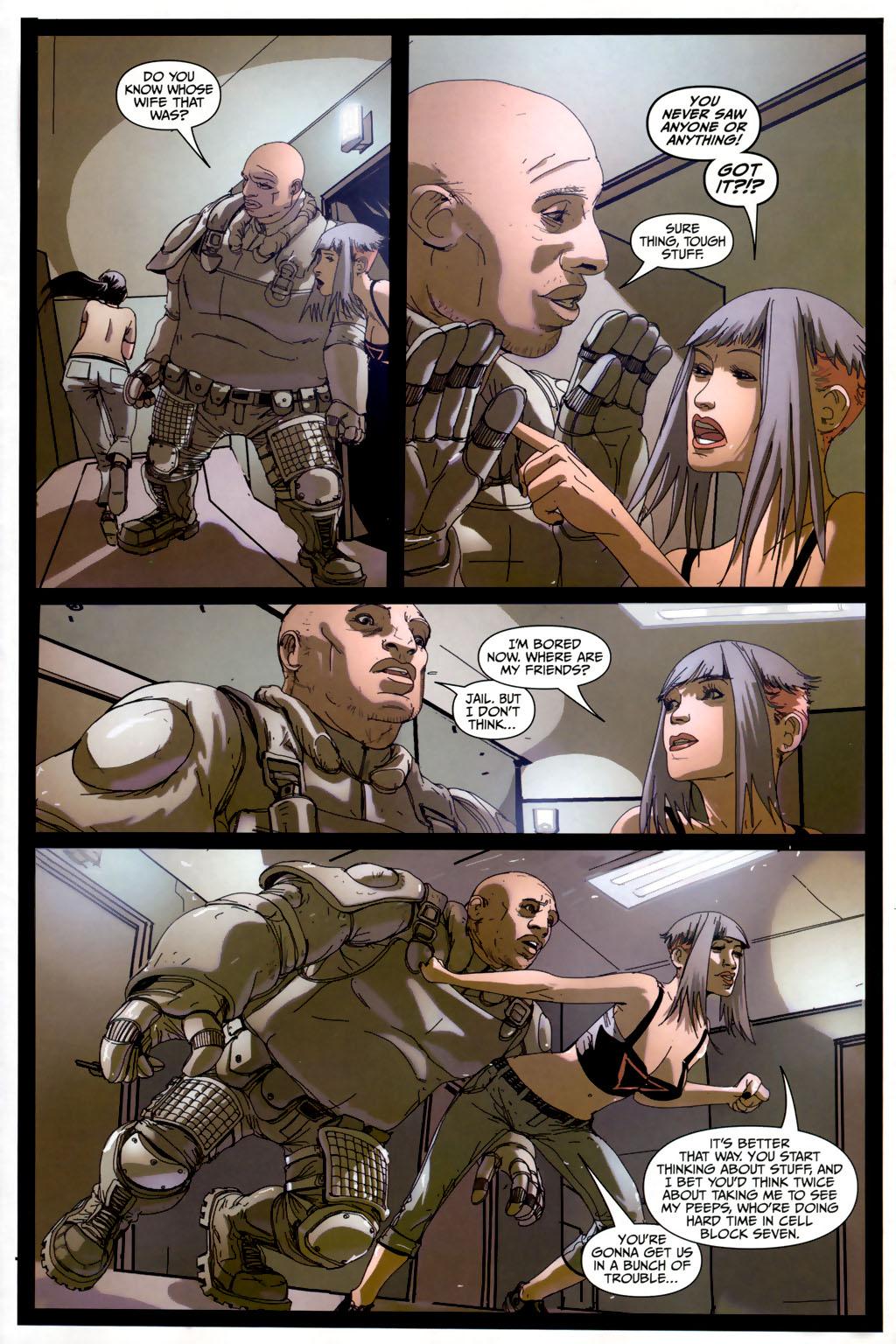Strange Girl Issue #6 #7 - English 9