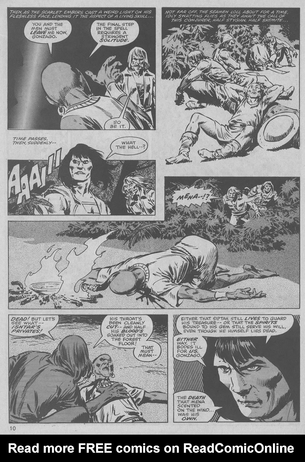 The Savage Sword Of Conan Issue #45 #46 - English 10