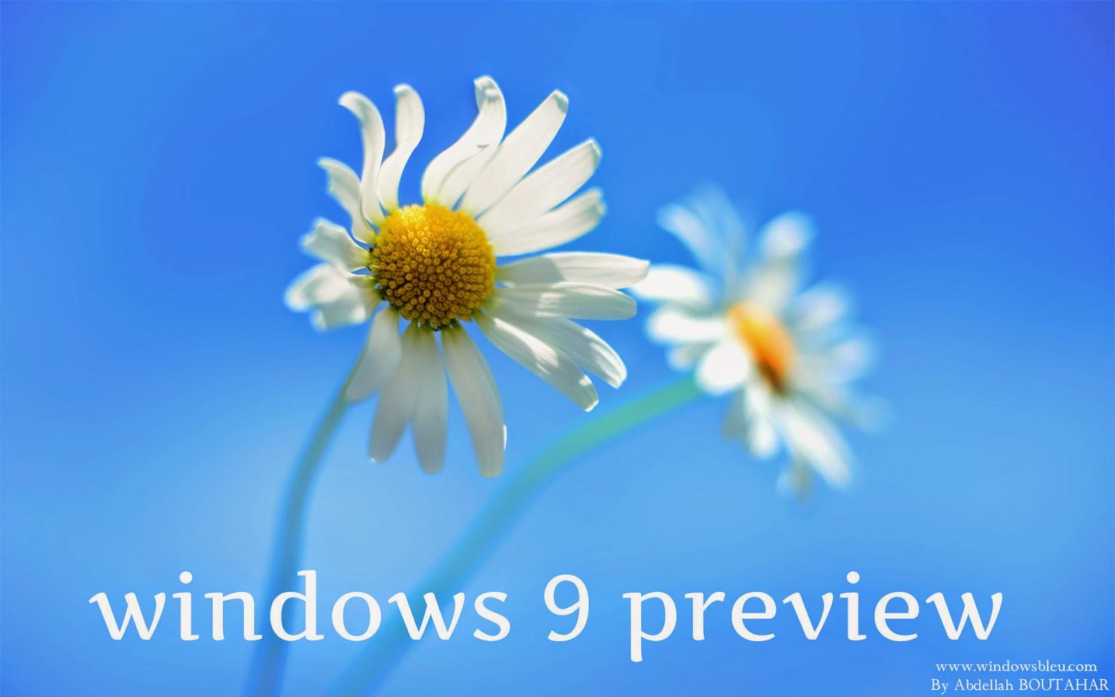 windows 9 preview release date   Windows Blue full - Windows 10