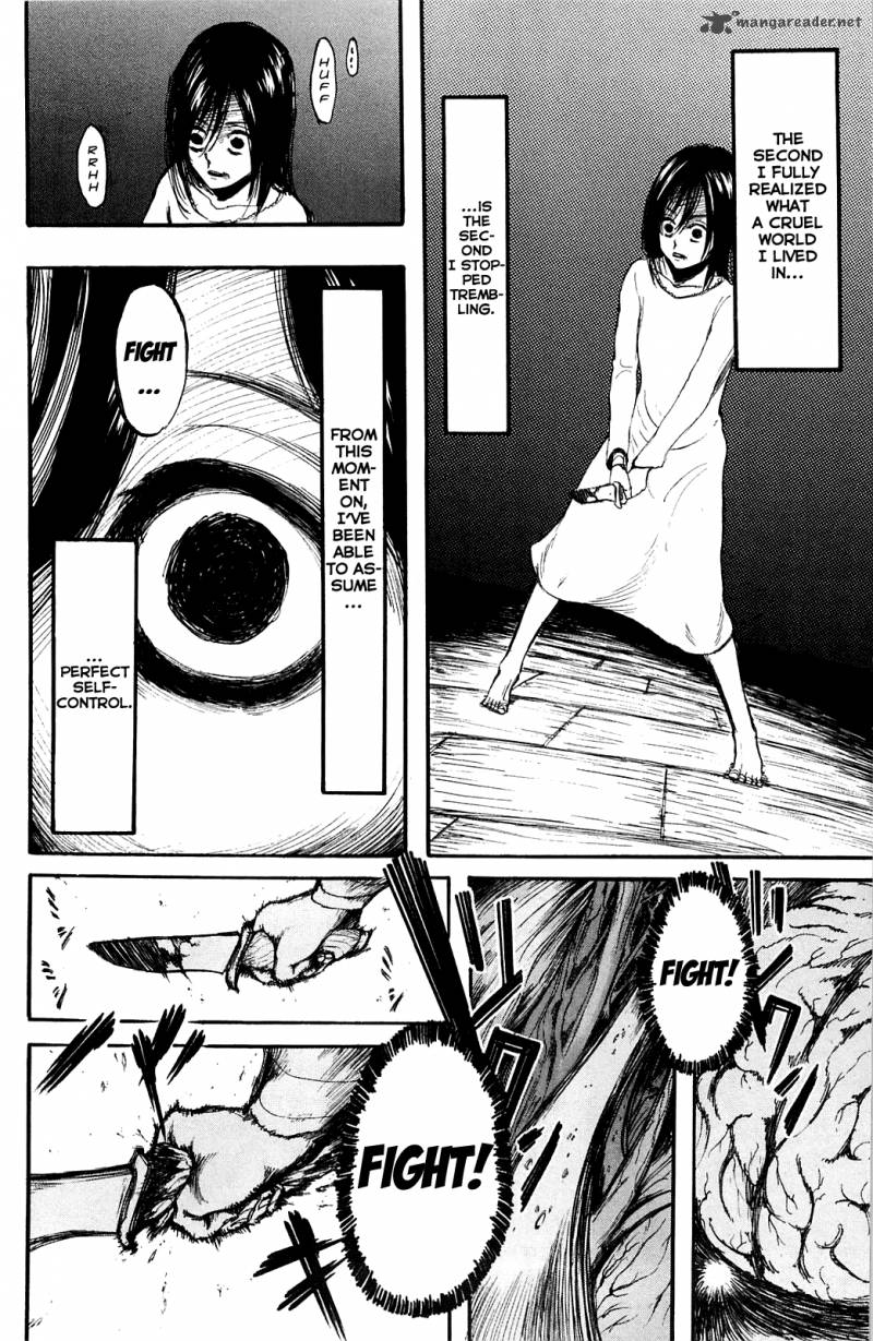Shingeki no Kyojin Ch 6: The World Through A Little Girls Eyes