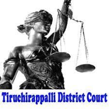 Tiruchirappalli District Court Jobs,latest govt jobs,govt jobs,latest jobs,jobs,Jr Assistant jobs,Typists jobs