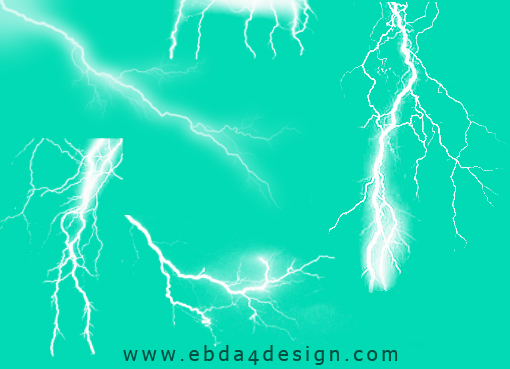 تحميل فرش برق ورعد للفوتوشوب مجاناً, Photoshop Brushs free Download, Lightning and Thunder Photoshop Brushs free Download