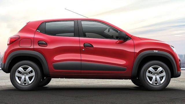 Novo Renault Kwid 2017 - Vermelho