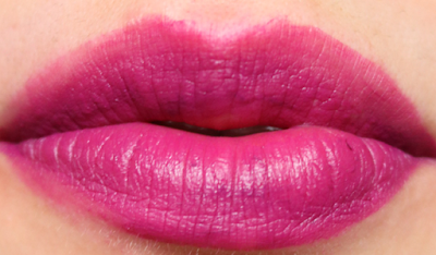Ciate Liquid Velvet Matte Lipstick in Chatterbox review swatches