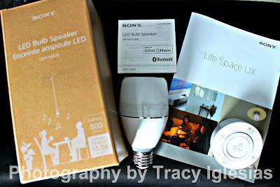 SONY LSPX-102E26 LED Bulb Speaker