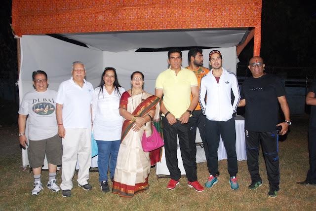 Smt. Jyotsna A. Dighe, Dino Morea, Mukesh Rishi and Hemant Nair