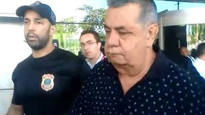 Jorge Picciani  é levado para depor na PF