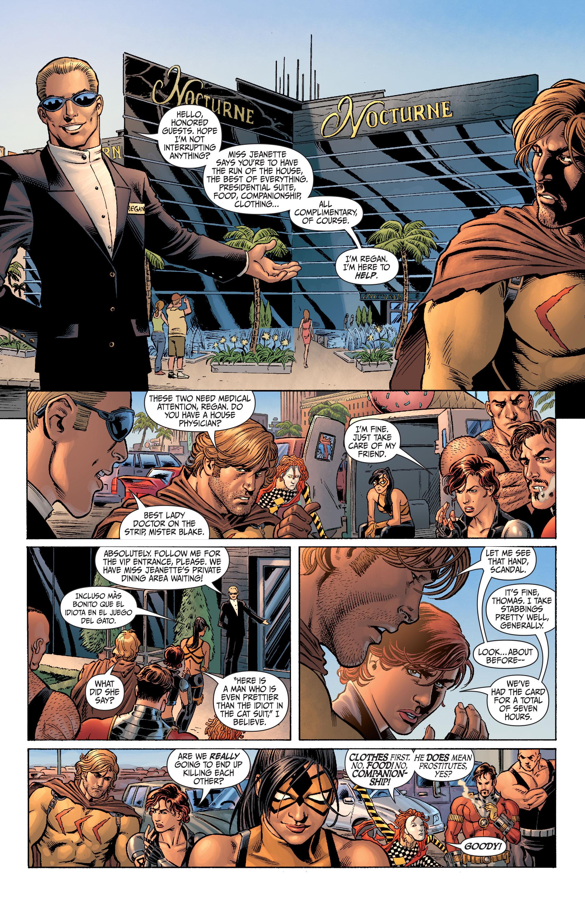 Read online Secret Six (2008) comic -  Issue #4 - 16