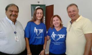 Presidente da AMAR entrega ofício de pedido de contratação de Neuropediatra ao Secretário de Saúde de SP