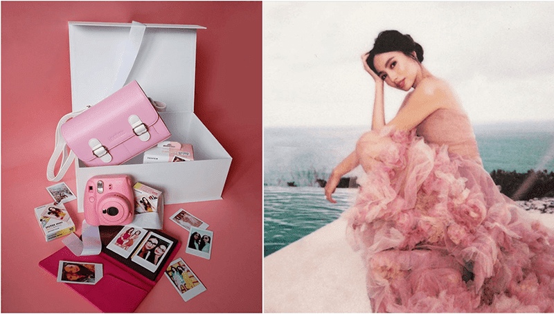 Fujifilm partners with Martine Cajucom for the Instax bridal merch