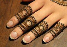 45 Latest Finger Mehndi Designs