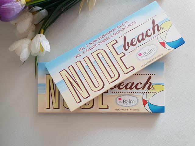 theBalm Nude Beach paleta sjenila