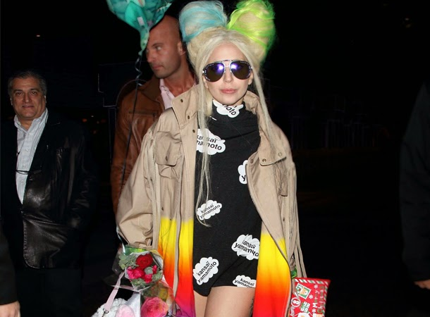 Lady Gaga Spotted Out and About in Tokyo - Little Monsters