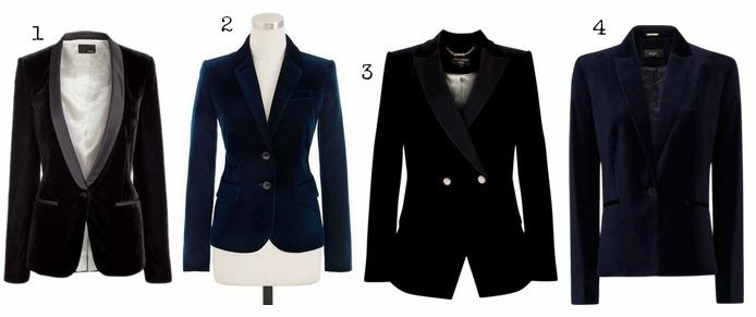 133e34f64 1 Next Black Velvet Jacket