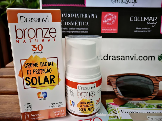 Crema protección solar spf30 de Drasanvi
