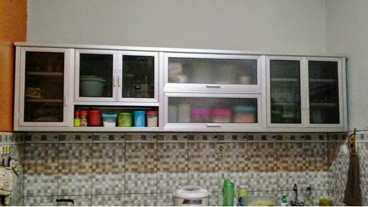 Kitchen set minimalis harga for Daftar harga kitchen set aluminium