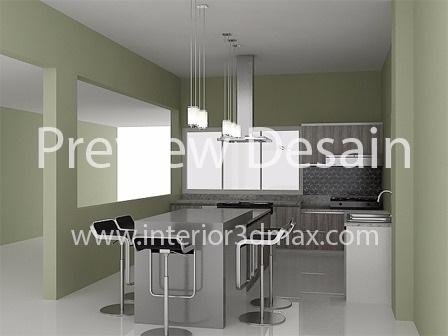 Seni desain interior exterior for Kitchen set kompor tanam