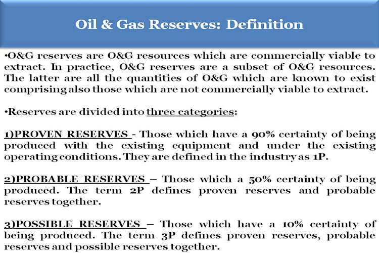 BACCI_Oil_and_ Gas_Reserves_Definition_Nov_2013