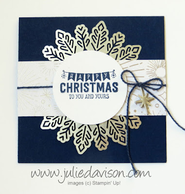 2 Labels to Love Christmas Cards ~ Stampin' Up! 2017 Holiday Catalog ~ www.juliedavison.com