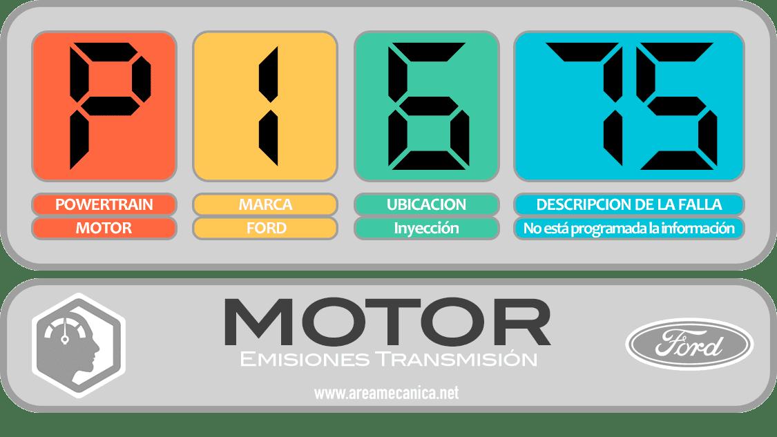 CODIGOS DE FALLA: Ford (P1600-P16FF) Motor | OBD2 | DTC