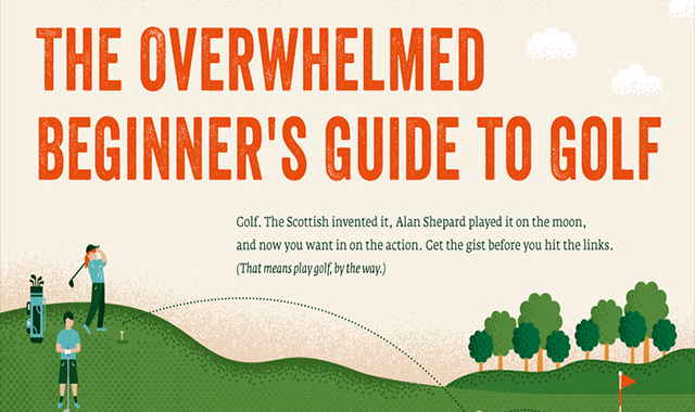Golf for beginners #infographic