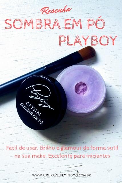 Sombra ultrafina glitter Playboy